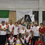 """Gli atleti dell'ASSTA Senigallia partecipanti al 35° trofeo di tiro con l'arco indoor """"Città di Senigallia"""""""