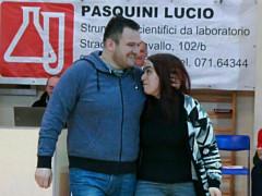 Loris Costantini e Martina Cesarini