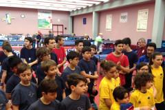 Al centro olimpico tennistavolo di Senigallia massiccia partecipazione per le prove di qualificazione per i campionati italiani CSI di tennistavolo