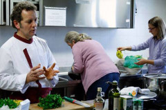 L'incontro al Panzini di Senigallia con lo chef Giovanni Allegro per l'iniziativa dell'associazione Cuochi Ancona