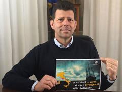 Maurizio Mangialardi a sostegno della campagna di Legambiente per il referendum del 17 aprile contro le trivellazioni in mare