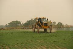 Applicazione pesticidi sui campi
