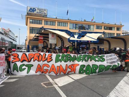 #overthefortress March: la partenza da Ancona