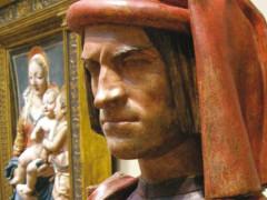 Il volto di Lorenzo de' Medici, opera nella National Gallery of Art di Washington