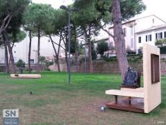 Opere d'arte installate nei Giardini Catalani di Senigallia