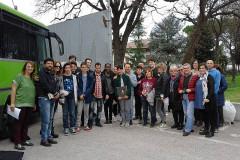 I protagonisti dell'iniziativa della Consulta degli Immigrati di Senigallia al carcere Villa Fastiggi di Pesaro