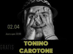 Manifesto per il concerto di Tonino Carotone a Senigallia