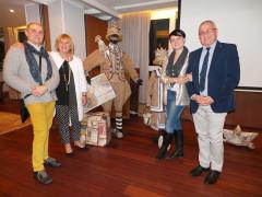 L'incontro del Rotary club Senigallia con i fratelli Anna e Lorenzo Marconi