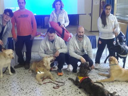 Incontro studenti Marchetti e K9