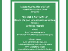 """""""Donne e antimafia"""", manifesto"""