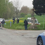 Il luogo dell'incidente mortale avvenuto in zona Le Grazie a Senigallia