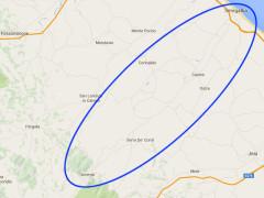 La mappa dei comuni delle valli del Misa e del Nevola interessati dal progetto di unione