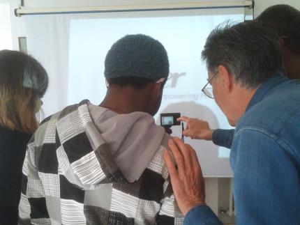 Il corso di fotografia per i rifugiati di Senigallia