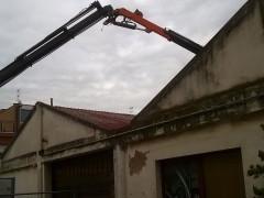 Lavori di bonifica presso i capannoni ex Alfa Romeo in Piazzale Cairoli a Senigallia