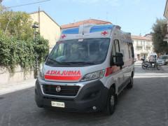 Nuova ambulanza per la Croce Rossa di Senigallia