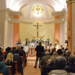Messa per la riapertura della chiesa parrocchiale di San Mauro Abate a Castel Colonna di Trecastelli