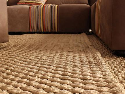 Un tappeto in casa