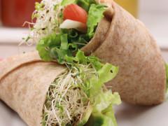 Un esempio di antipasto vegano