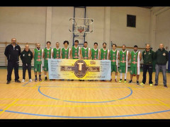 La formazione della Maior Basket asd del campionato 2015/16