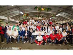 Lo staff della Festa del Cuntadin di Montignano di Senigallia