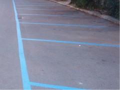 Parcheggi a pagamento, strisce blu