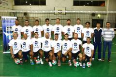 La formazione della Max Control, squadra maschile della Us Pallavolo Senigallia, stagione 2015-2016