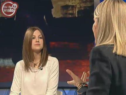 """Jessica Bertolini su Rai 3 a """"Chi l'ha visto?"""""""