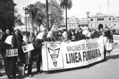 Uno scatto di Paola Donatiello sulle Madri coraggio - le donne di Plaza de Mayo - a Buenos Aires
