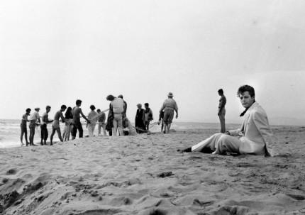Una scena del film La Dolce Vita di Federico Fellini