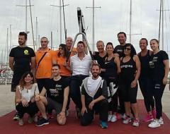 """Senigallia, inaugurato il percorso fitness """"Gym on the beach"""""""