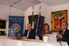 L'incontro tra il Rotary club e l'ass. Cuore di Velluto