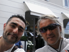 Maurizio Perini e Roberto Mancini