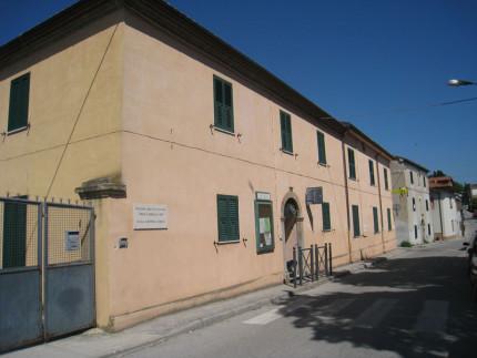 Il Centro Sociale Sant'Angelo, in via borgo Marzi a Senigallia