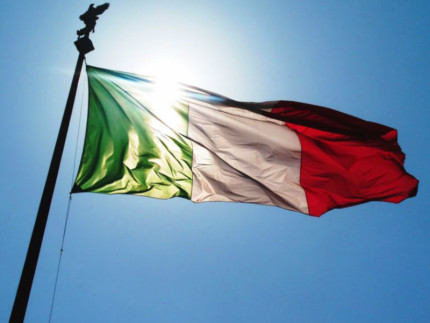Bandiera tricolore Italiana