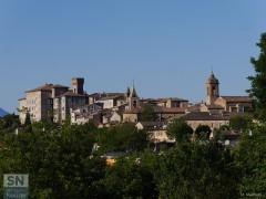 La città di Ostra nella foto di Massimo Mariselli