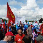 Corteo metalmeccanici delle Marche per rinnovo contratto di lavoro