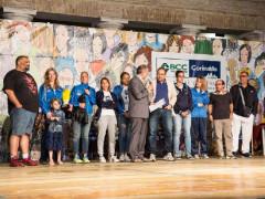 Riconoscimento per la squadra femminile della Us Pallavolo Senigallia allo Sportivo dell'anno 2016