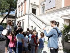 Scuola dell'infanzia di Piazza Saffi in visita al Musinf