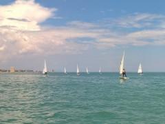 5° regata del Campionato Zonale classe Laser - X Zona (Marche) a Porto San Giorgio