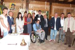 Conviviale del Panathlon Club di Senigallia e ingresso di nuovi soci