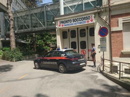 Carabinieri al Pronto Soccorso