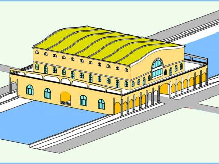 Ponte Garibaldi monumentale nel progetto di Paolo Landi