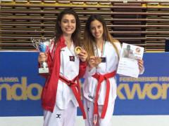 Arianna Perticaroli ed Asia Lanari