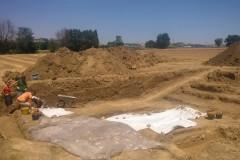 Campagna di scavi nel parco archeologico regionale della Città Romana di Suasa, nel Comune di Castelleone di Suasa, località Pian Volpello