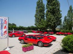 Secondo raduno Amici Ferraristi, organizzato a Senigallia da Car Multiservice