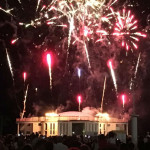 Fuochi d'artificio alla Rotonda