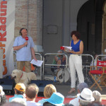 Massimo Cirri e Sara Zambotti al CaterRaduno 2016 a Senigallia