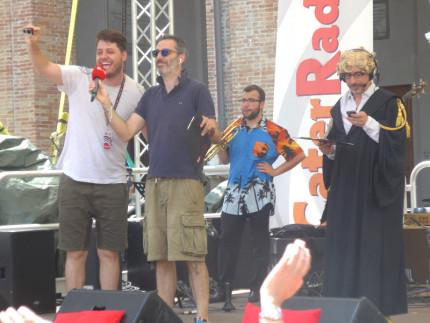 Filippo Solibello sul palco del CaterRaduno