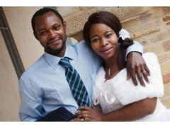 Emmanuel Chidi Namdi e la moglie Chimiary