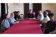 L'incontro del sindaco di Senigallia con i rappresentanti della comunità bengalese